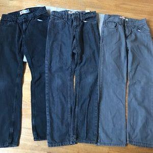 Bundle 3 pairs Boys Levi's jeans 511 514 14 reg 27